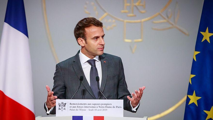 Fransa Cumhurbaşkanı Macron'dan Suriye Demokratik Güçleri'ne destek sözü