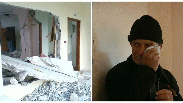 شاهد: القوات الإسرائلية تهدم شقة فلسطيني مشتبه به في قتل إسرائيلية