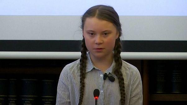 گرتا تونبرگ، فعال ۱۶ ساله سوئدی: به کودکان دروغ گفتید