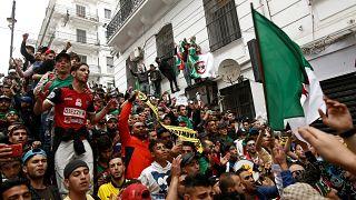Девятая пятница протестов в Алжире