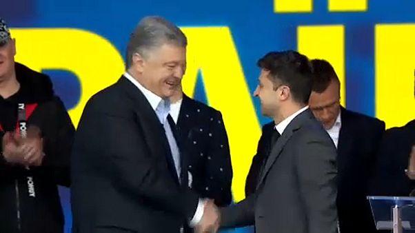 Présidentielle en Ukraine : un drôle de débat