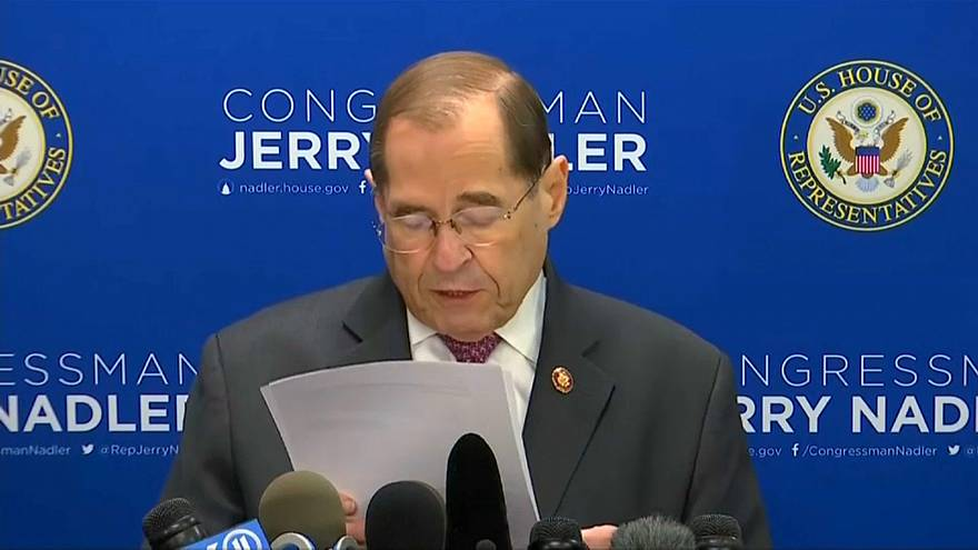 US Congressman Democrat Jerry Nadler