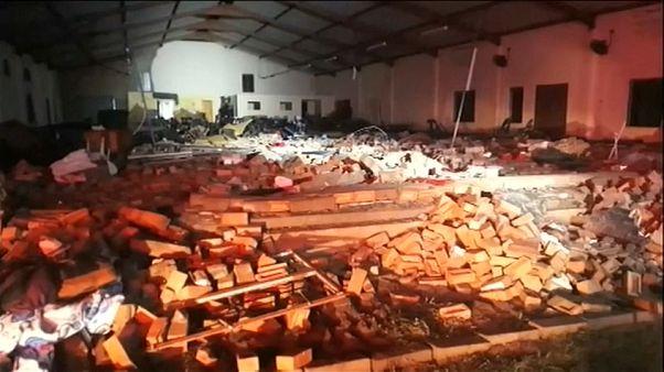 وفاة 13 إثر سقوط جدار داخل كنيسة بجنوب إفريقيا