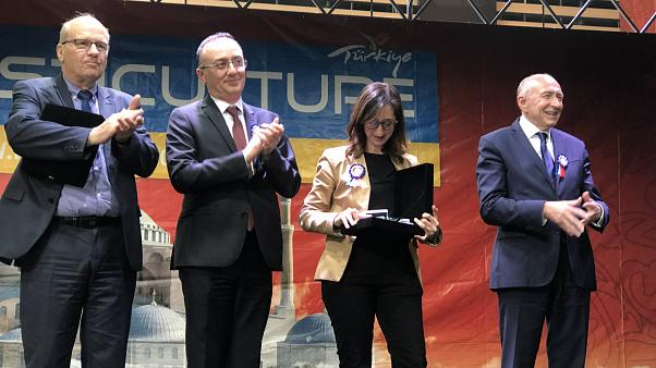 Fransa'da Türk kültürü festivaline yoğun ilgi