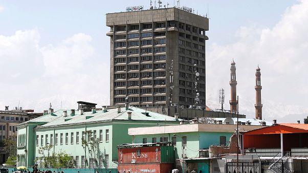 Atentado contra el Ministerio de Información en Kabul