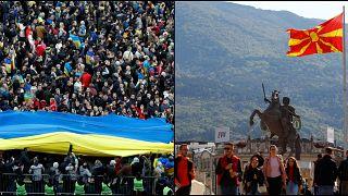 Ukrayna ve Kuzey Makedonya pazar günü sandık başında: Seçmenin oyu iki ülkeyi nereye götürecek?