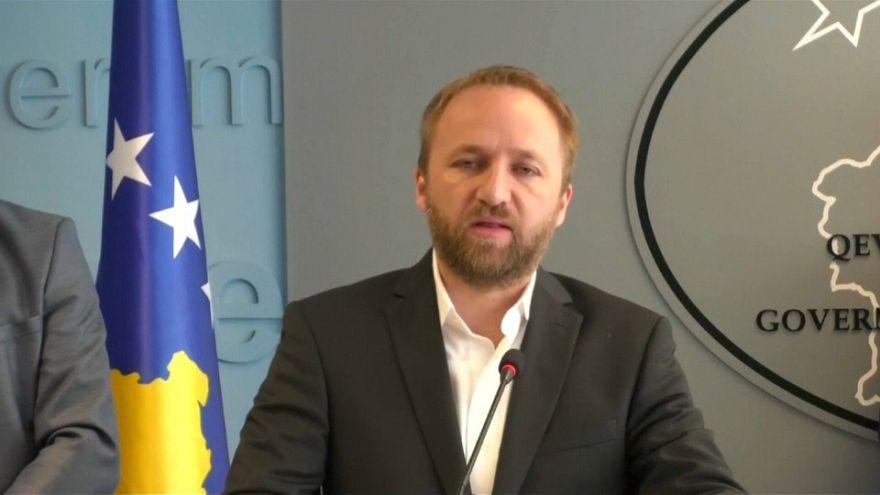 Kosovan Justice Minister Abelard Tahiri
