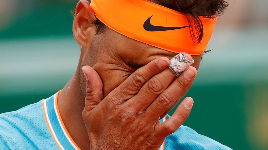 Nadal is out of Monte Carlo - beaten by Italy's Fabio Fognini