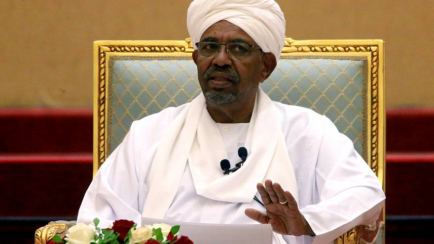 Sudan's ousted President Omar al-Bashir, April 5 2019