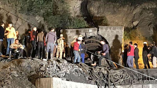 آتشسوزی در معدن زغالسنگ سوادکوه مازندران