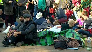 Extinction Rebellion continúa su protesta ecológica en Londres