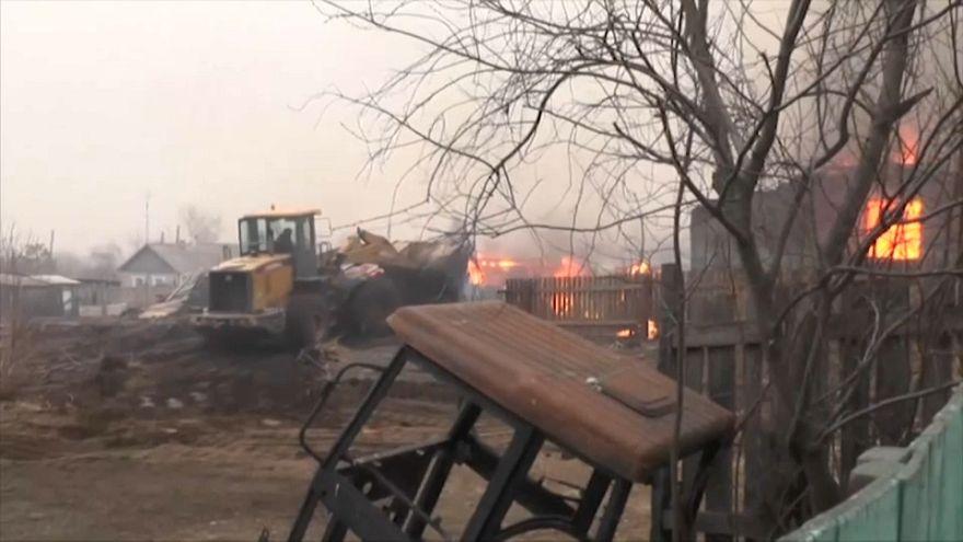 Megfékezték a tüzeket Szibériában