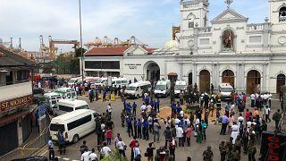Sri Lanka'nın Colombo kentindeki kilisede patlama meydana geldi