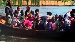 الكونغو الديمقراطية: إرتفاع عدد ضحايا غرق قارب إلى 40 قتيلا