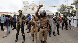 Merényletsorozat Srí Lankán: rengeteg halott