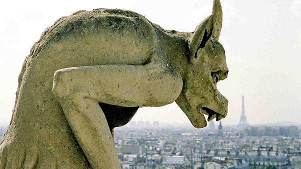 مجسمههای نوتردام؛ شیطانی، غیراخلاقی یا محافظ خیر در برابر شر؟