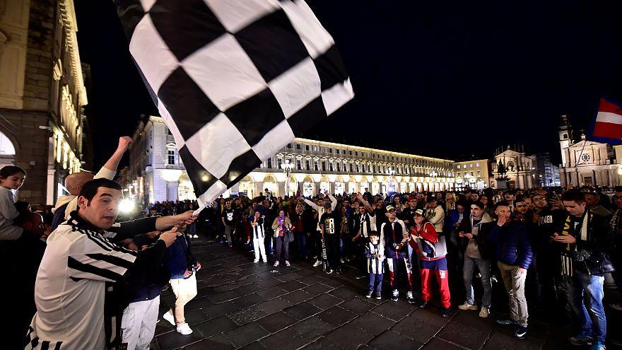 Turin célèbre ses champions, huitième scudetto consécutif pour la Juve