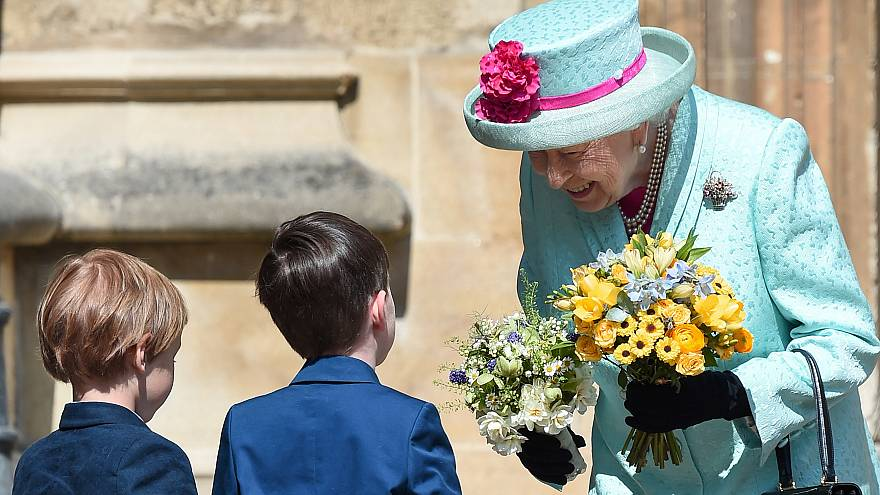 Queen celebrates 93rd birthday at Easter service
