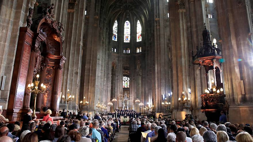 La messe de Pâques de Notre-Dame déplacée à Saint-Eustache