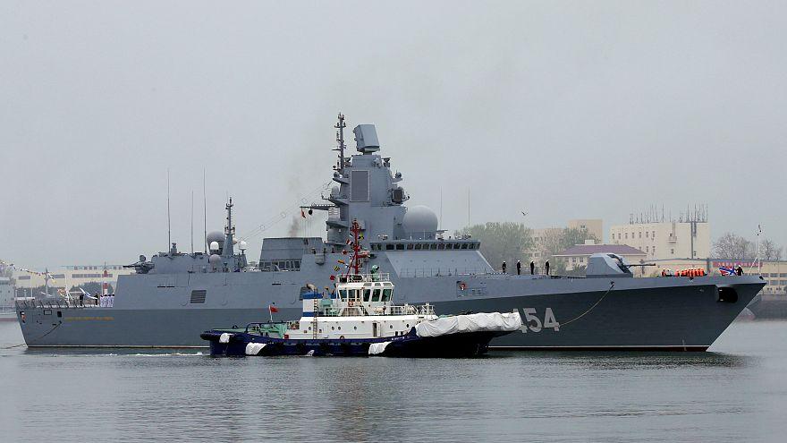 Северный флот в Жёлтом море