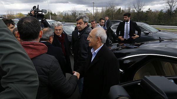 Saldırı sonrası Kılıçdaroğlu'ndan açıklama: Canımı vermeye hazırım, bir milim geri adım atmayacağım