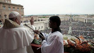 خطابه عید پاک پاپ فرانسیس در سایه حمله به کلیساها در سریلانکا