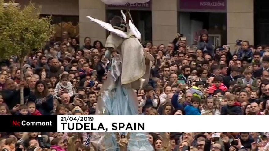 نمایش آئینی عید پاک در اسپانیا