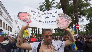 Binlerce Faslı Rabat sokaklarında hapisteki eylemcilerin serbest bırakılması talebiyle yürüdü