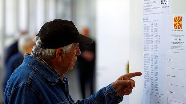 Divisões na Macedónia do Norte apontam a 2ª volta nas presidenciais