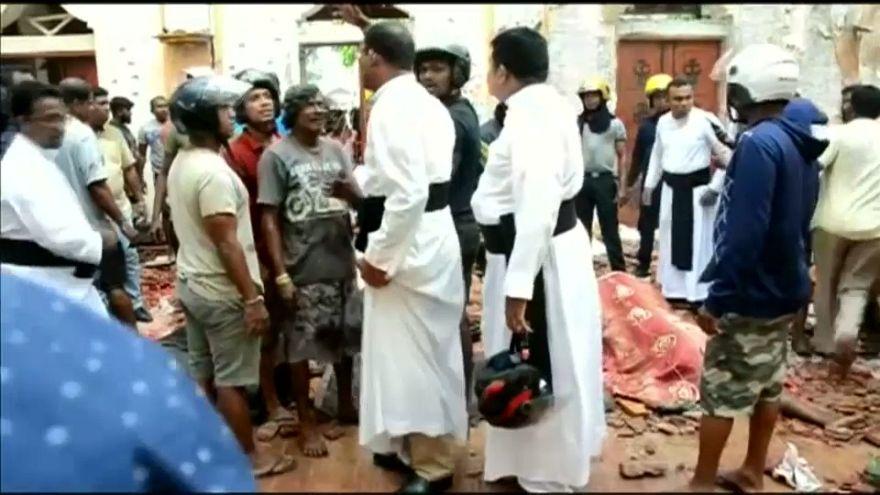 Primeiro-ministro do Sri Lanka condena atentados