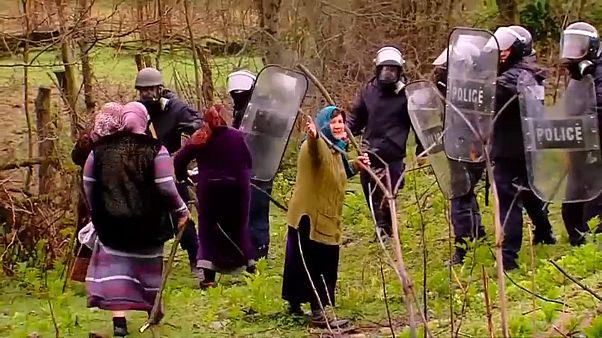 Протесты против ГЭС: есть пострадавшие
