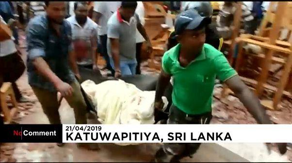 قتلى وجرحى بالمئات إثر تفجيرات طالت كنائس وفنادق في سريلانكا