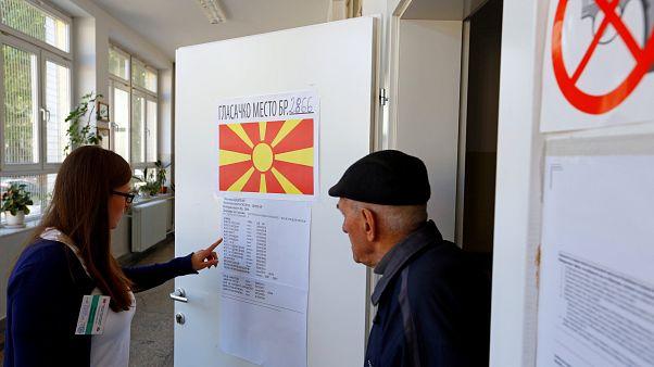 Stichwahl in Nordmazedonien - Präsidentenwahl geht in zweite Runde