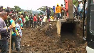 Al menos 19 muertos en un derrumbe en Colombia provocado por la lluvia
