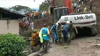 رانش زمین در کلمبیا ۱۷ کشته برجای گذاشت