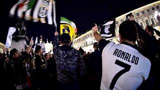 Juventus üst üste 8'nci kez İtalya şampiyonu
