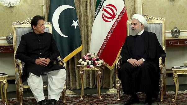 دیدار حسن روحانی با عمران خان، نخست وزیر پاکستان