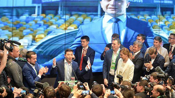 نخستین واکنش مسکو به انتخابات اوکراین