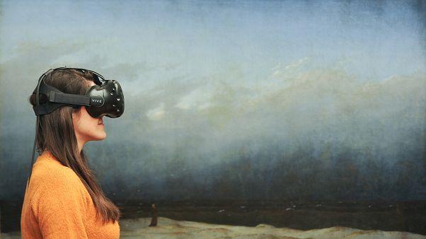 Ausstellungstipp: Mit dem Mönch am Meer in 3D