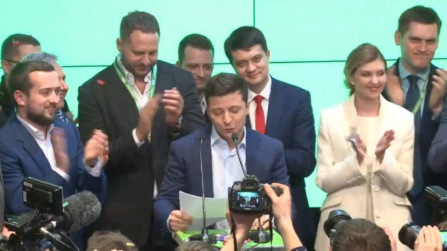 Ukraine-based business expert says even new president unsure of his direction