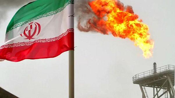 Iran oil refinary - stock picture