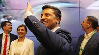 Rusya'dan Ukrayna'da seçimi kazanan Zelenskiy yönetimine sağduyu çağrısı