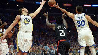 Los Warriors están a un paso de las semifinales de la Conferencia Oeste en la NBA