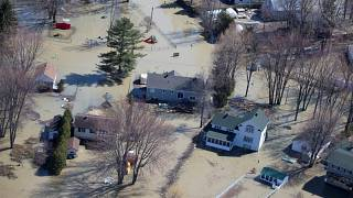 Une partie du Québec sous les eaux, 1500 personnes évacuées