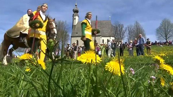 Gehört Ostern einfach dazu: Georgiritt in Traunstein