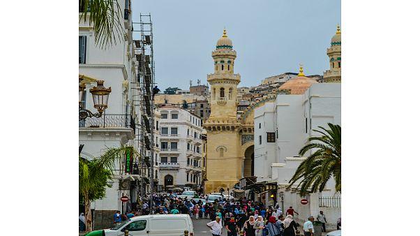 شارع تاملقيت ببلدية القصبة في العاصمة الجزائر