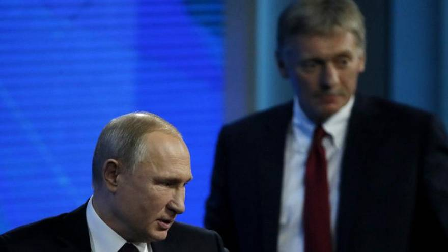 Кремль пока не планирует поздравлять Зеленского с победой