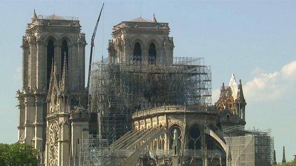 Catedral de Notre Dame mais fragilizada do que parece