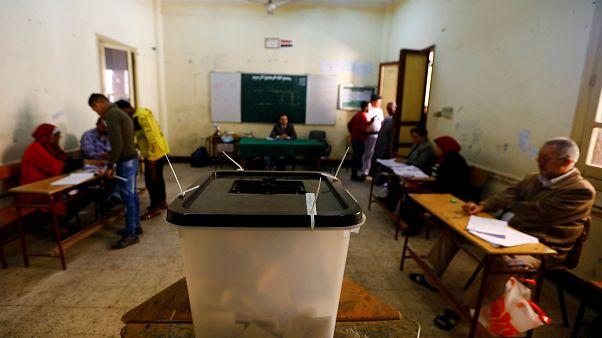 أحد مراكز الاقتراع المصرية
