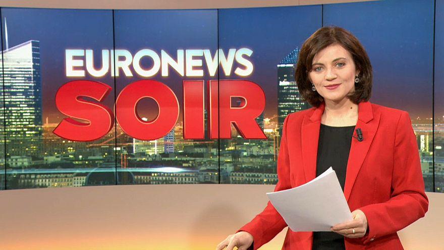 Euronews Soir : l'actualité du lundi 22 avril